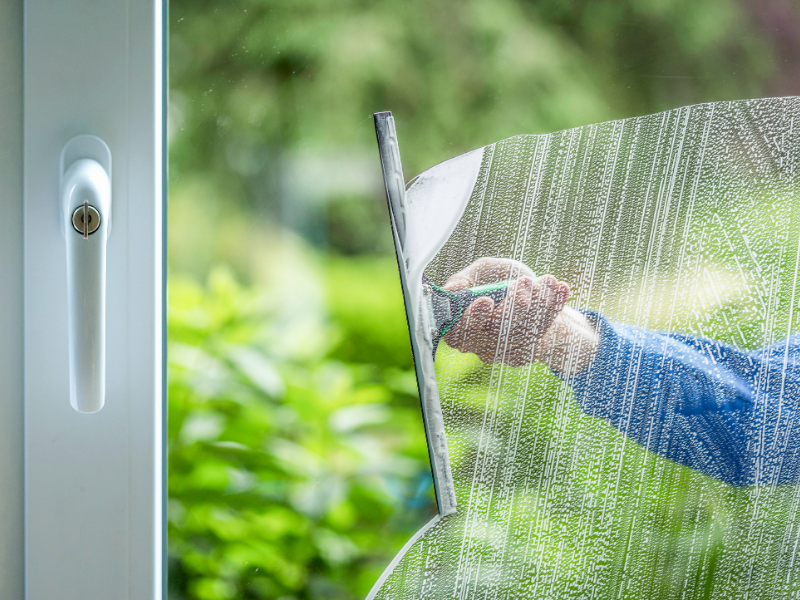 Window & Glass Cleaning for Commercial & Shops